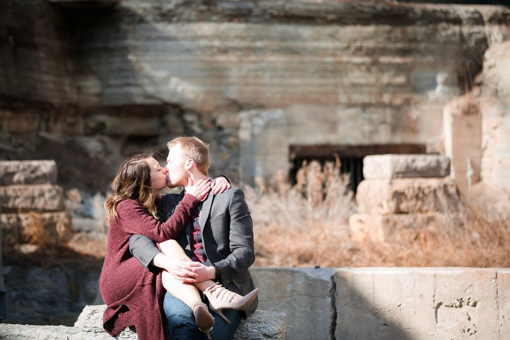 Mill Ruins Park engagement photography