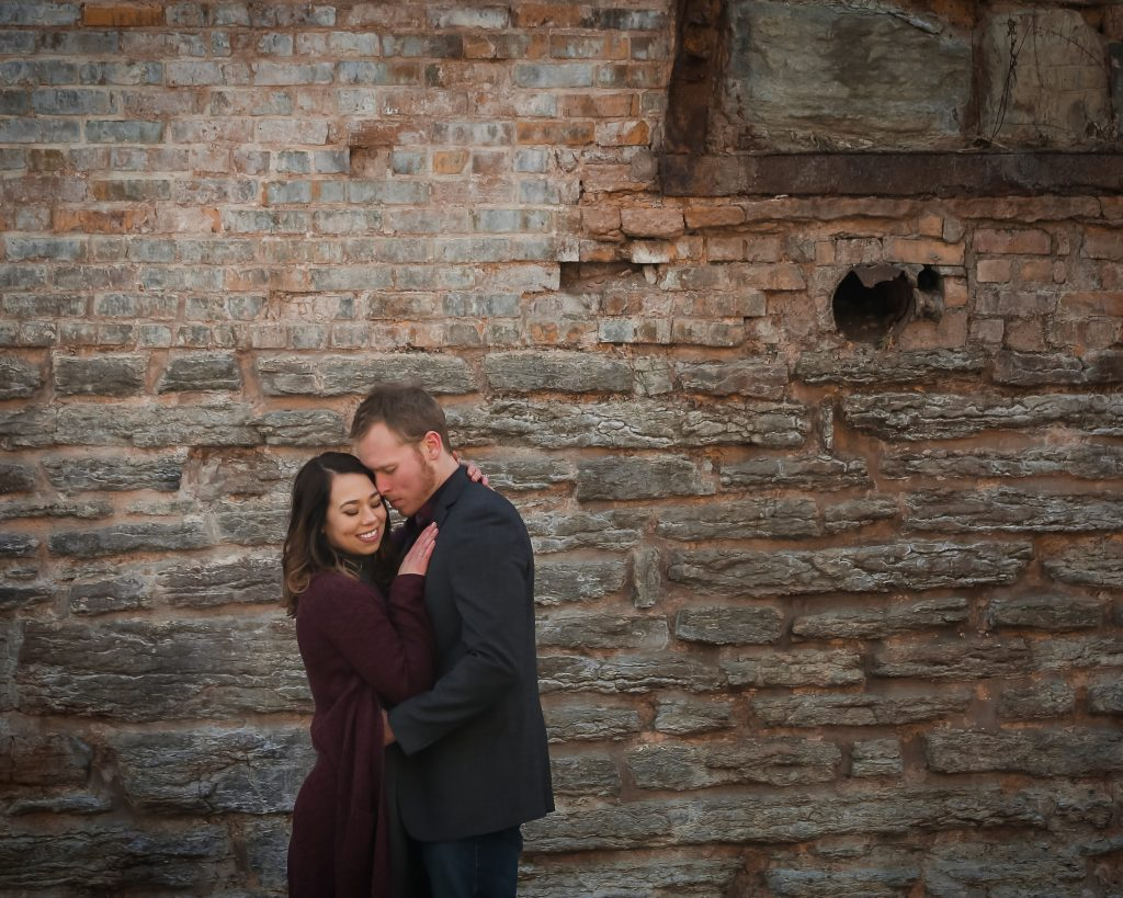 Mill Ruins Park Engagement Photography Minneapolis MN