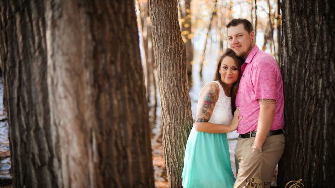 Kelsey + Jacob.  Engagement Photo Session at Lakefront Park in Hudson WI.